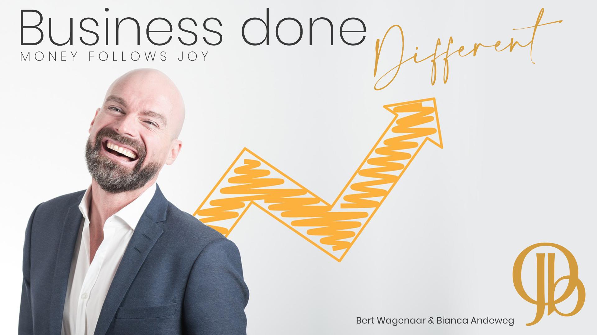 Durf jij anders te zijn? Je kop boven het maaiveld uit te steken? Iets te ondernemen terwijl iedereen je voor gek verklaart? Welkom bij Business Done Different.