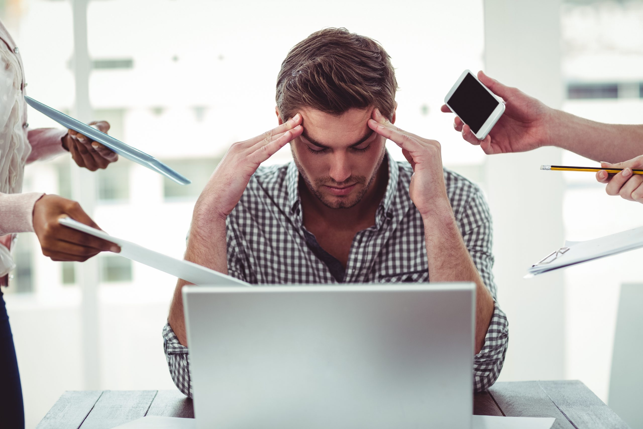 Ontdek wat jouw stressfactoren zijn en hoe je goed met stress kunt omgaan, zelfs in stressvolle situaties.